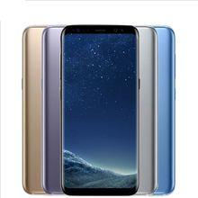 2017 Original unlocked Goophone S8 Plus Fingerprint Show 4G LTE Octa core 64GB Rom smart Phone 1920*1080 FHD 8MP Android Cell Phone