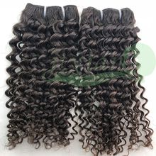 100% Human remy hair weft DEEP wavy 25cm