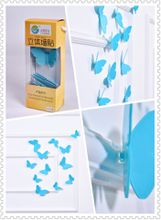 Buterfly 3D Wall Stickers Blue color(12pcs/box)