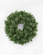 wholesales artificial Christmas wreath for decoration new fashion hot sale gift Christmas toy lightning home and hotel decoration