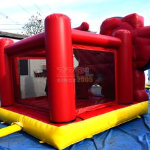 ZZPL Kids like inflatable jumping castle inflatable bounce house combo New design inflatable bouncy castle