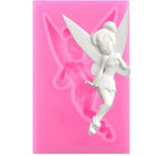 Elf Flower Fairy Fondant Silicone Mould Cake Chocolate Mould Epoxy Clay Handmade mold