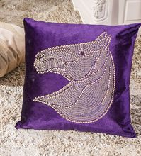 heat set diamond velvet dec pillow