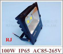 new radiator LED flood light floodlight waterproof COB AC85-265V IP65 100W / 50W / 30W / 20W /10W