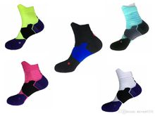 new style high quality dry-fit elite mans cushion sole basketball socks