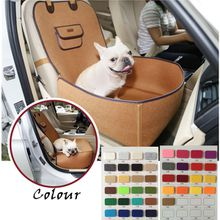 Wholesale custom high quality felt cloth pet nest,Multi-function dog using car cushion,A variety of colors to choose from.