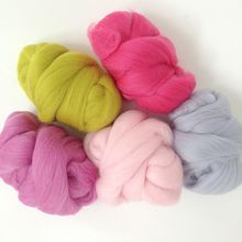 wholesale custom 21-23 micron wool tops