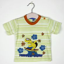cotton short-sleeved T Shirt Tops Kids Girls short Sleeve T Shirt Baby Sleeve T-Shirt Tops + Shorts Kids Clothes Outfits Top