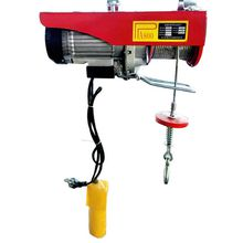 Electric hoist with small hoist 220V miniature electric hoist single-phase hoist decoration crane
