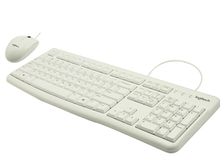 Logitech (Logitech) MK120 keyboard or mouse and keyboard suit white suit