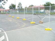 Contrustion site temporary fence