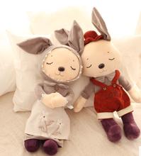 Little fresh and lovely couple rabbit dolls