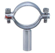 Metal SS Stainless Steel Sanitary Round Pipe Holder Hanger Tube Clamp Fittings