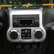 Central Dashboard Cover Trim High Quality New Car Interior Accessories For Jeep Wrangler 2011-2016 Factory Outlet Car Interior Accessories