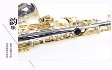 High QualityFrench SELMER E-flat alto saxophone Top musical instruments genuine gold silver body And mouthpiece free shipping