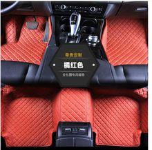 5D Diamond shaped designed Waterproof Leather XPE Car Floor Mats for LEXUS LX 570 2012-2016