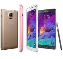 Samsung Note 4 N910 Original Unlocked Cell Phone with 16mp Camera 3gb Ram and 32gb Rom 3g/4g 5.7'' Touch refurbished phone