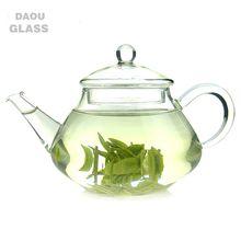 HOT SALES 350ML hand made heat resistant borosilicate exotic glass teapot glass tea set glass pot
