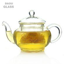 mini small Heat resistant Clear Glass Tea Set glassware Dinkware Teapot China kongfu Tea Sets Teapot 250ml