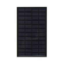 2.5W 12V PET+EVA Laminated Solar Cell Monocrystalline Solar Cell Panel Size 200mm*120mm for DIY and Solar Project