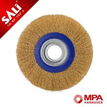 Carbon Steel buff wheels Circular High Tension Circular Brush