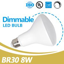 China Led BR30 Supplier 3000K 650lm E26 Dimmable 8W Led BR30 Light Bulbs UL Energy Star Listed