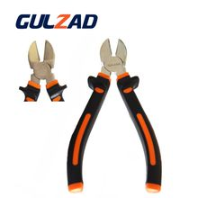 High Quality 8'' Hardware Tool CrV Round Nose Diagonal Cutting Pliers