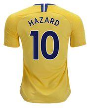 Top quality Chelsea soccer jersey 2019 away yellow Hazard Giroud Morata Kante David Luiz Fabregas jersey football shirts uniforms