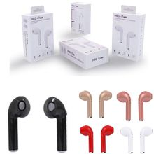 I7 I7S TWS Twins Mini Bluetooth Earbud Wireless Invisible Headphone Headset with Mic CSR4.1 Stereo Blurtooth Earphone For Iphone X Samsung