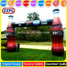 Customized inflatable start and finish line arches/inflatable sport arch gate for sale