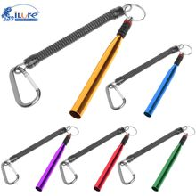 ilure Aluminum Wacky Rig Fishing Soft Lure Accessories Wacky Rig Soft Bait Stick Worm Silicone Rubber Band Ring Fishing Tools