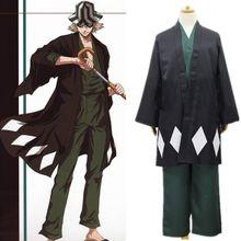Urahara Kisuke cosplay costumes kendo clothes Japanese anime BLEACH clothing Masquerade/Mardi Gras/Carnival halloween costumes