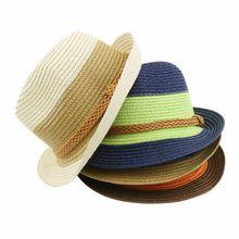 2018 New joker Summer small fedoras women's sun-shading sunscreen sun hat fashion straw hat shade beach Hat