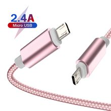 OEM Fast Charge tpye c cable USB C 2.0A 3FT 6FT 9FT cellphone cable Micro usb Compatible with variety of smart phones