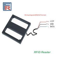 1m middle range rfid reader proximity 125Khz reader with RS232 interface without software