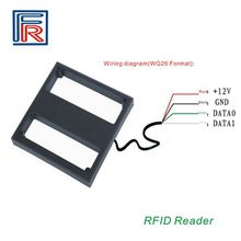 100cm Long Range RFID EM Proximity Reader 125KHz Wiegand26 interface support EM card