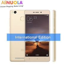 Xiaomi Redmi 3 International Edition Xiaomi Redmi 3 Pro Prime Snapdragon 616 Octa Core 3GB 32GB Fingerprint Metal Body 4100 mAh Cell Phone
