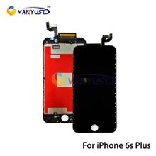 Grade A +++ LCD Display Touch Digitizer Complete Screen Panels Full Assembly with Frame Replacement For iPhone 6s Plus 5.5 inch