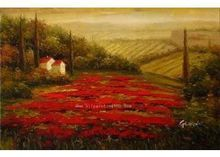 Landscape-oil-painting-Tuscan-Landscape-Hot-Contemporary-Art-Hand-painted-canvas-art-Tuscan-025