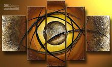 Free shipping MODERN ABSTRACT CANVAS ART OIL PAINTING huge eye wall deco oil painting new arrival P47