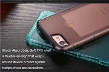 2017 Newest Call Lightning Mobile Phone Case for iPhone 6S 7 Colorful Transparent Soft Shockproof Cover Case