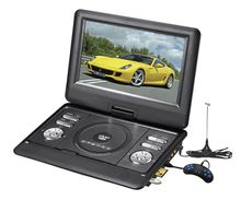 Portable Cheap 7inch FM Radio TV Video Game Car Home Kids Friendly DVD VCD Player Manual
