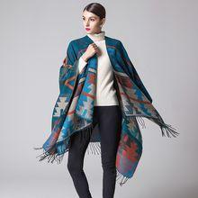 Women's Plaid Scarf Fashion Wrap Grid Shawl Check Pashmina Cashmere Cozy Oversized Tartan Tassel Scarf Lattice Neck Stole Blanket