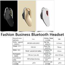 Bluetooth Headset Mini In-Ear Long Standby 2017 New CSR8633 Chip Fashion Business Bluetooth