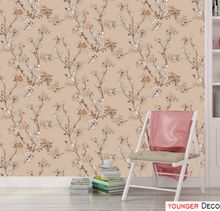 Fashion Floral wallpaper for home decoration 3d wallpaper Modern flower wallpaper