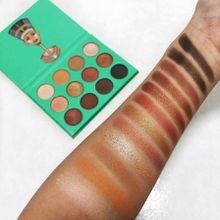 Hot Sale 2017 eyeshadow Cleopatra Green Nubian 1 Eye Shadow Palette for natural glitter eyeshadow palette matte balm eyeshadow In stock