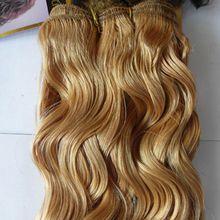 Honey Blonde Weave Hair 100g Blond Brazilian Hair Weave Body Wave Brazilian Hair Weave Bundles