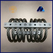 Machine Vibration Control Container Shock Control Container Used JGX-2228 Stainless Steel Wire Rope Isolator