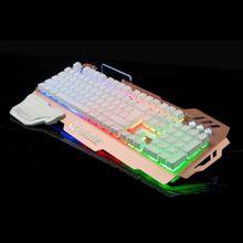 Game keyboard mechanical hand feel US desktop computer laptop backlight cable keyboard
