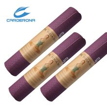 Guarentee 100% TPE double layers eco yoga mat